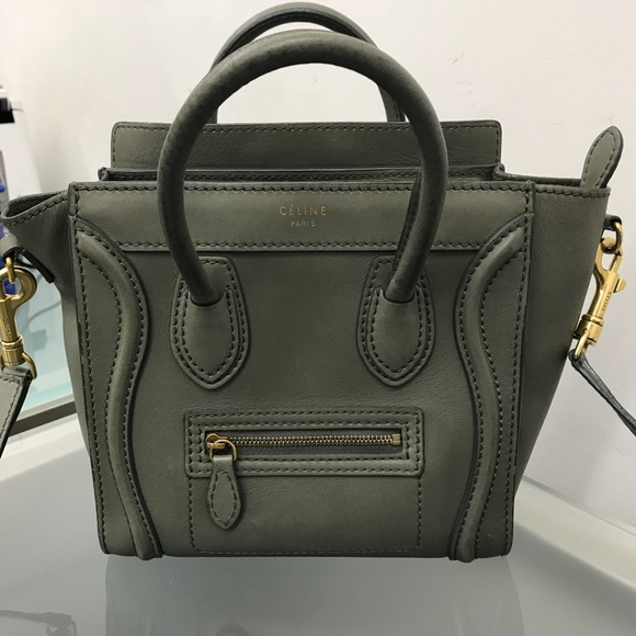Celine Handbags - Celine Luggage Nano Handbag 100% Authentic 0e19aeb04299e